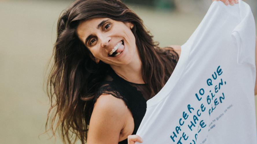 La inspiradora historia de Andrea Martínez Rojas: cuando transportar pis puede cambiar tu vida