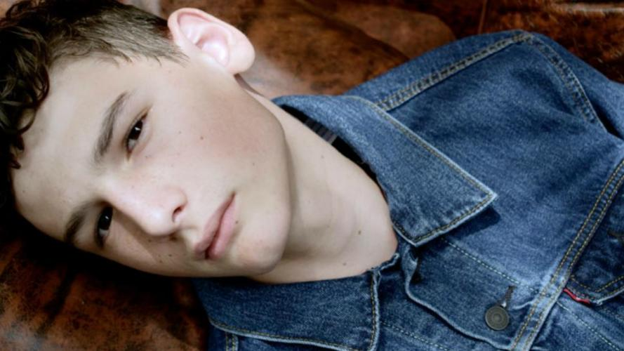El nieto del Flaco Spinetta, actor y modelo