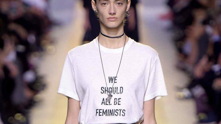 Todas aman la nueva camiseta feminista de Dior