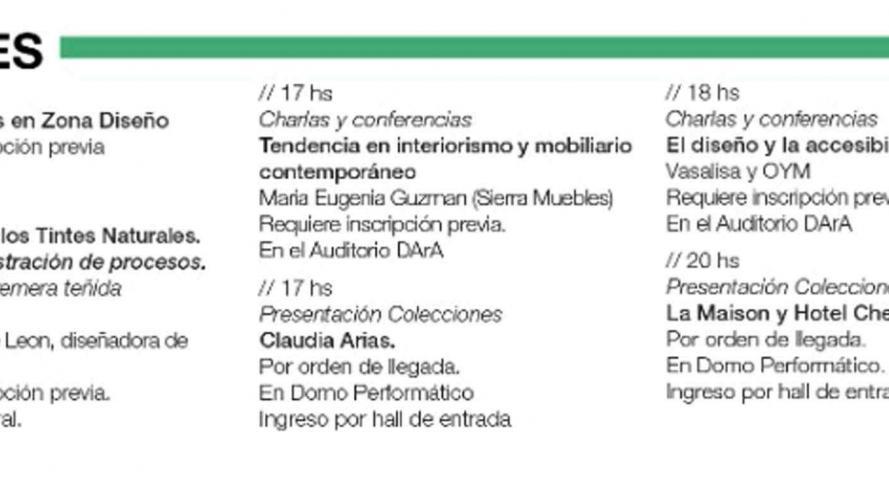 Qué esperar de Córdoba Diseña 2019: programación y actividades