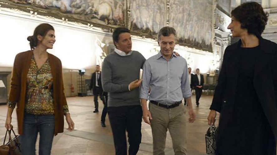 El look de Juliana Awada que despertó polémica en Italia