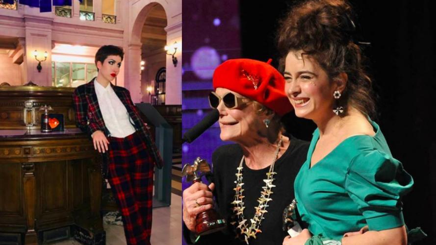 Sofía Gala y Érica Rivas en Premios Cóndor de Plata: ¿mal vestidas o extravagantes?