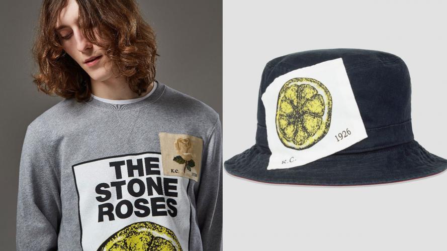 David Beckham, entre negocios y fanatismo: mirá la colección inspirada en The Stone Roses