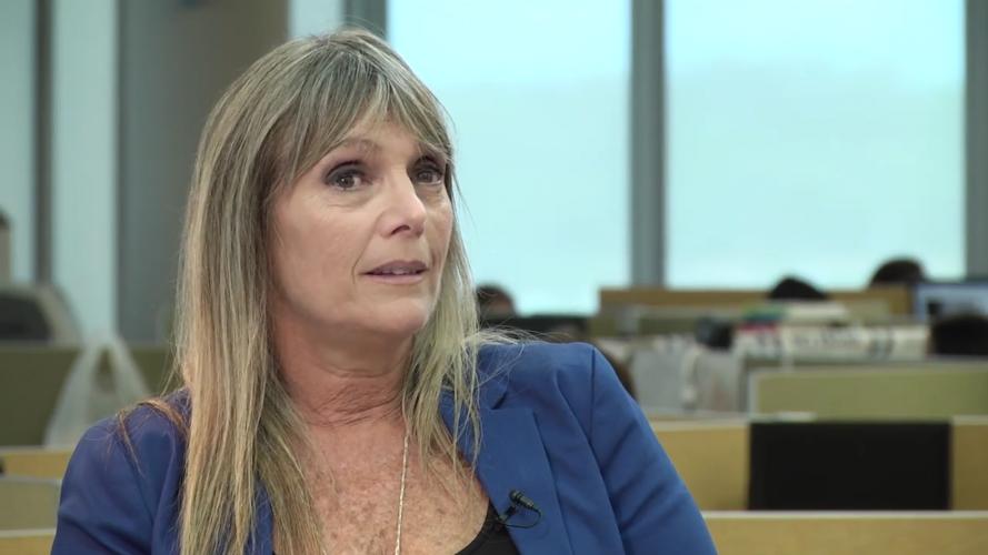 Mónica Katz: por qué no pone revistas femeninas en su consultorio