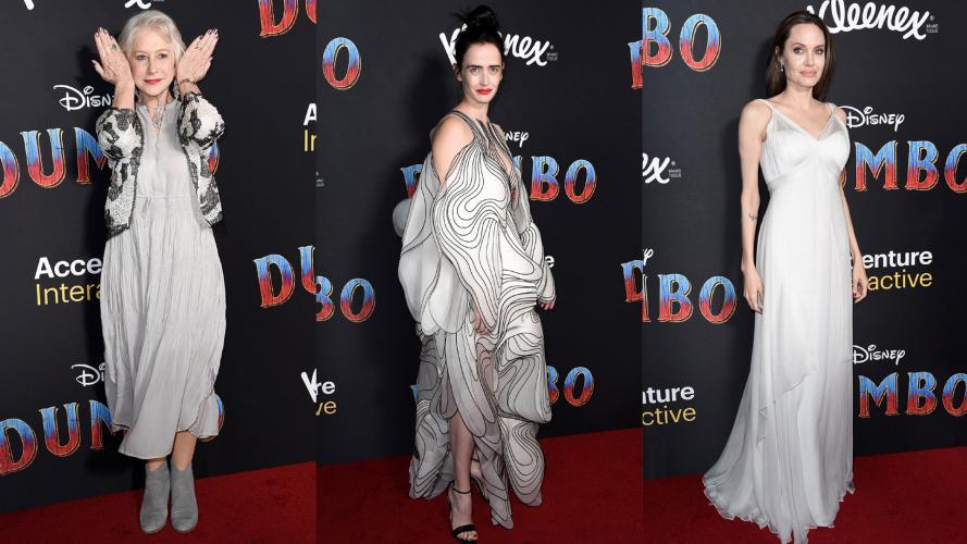 Eva Green y Angelina Jolie, las favoritas de los flashes en la premiere de