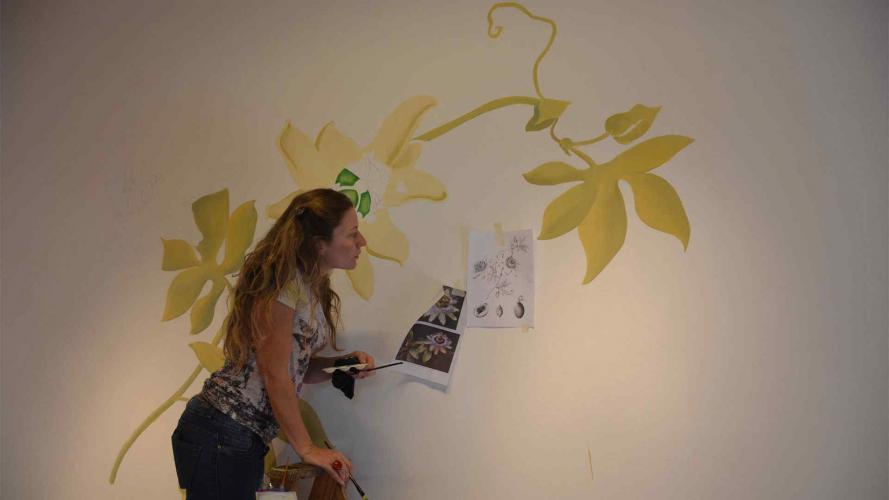 Córdoba: una muestra para ver pintar murales en vivo