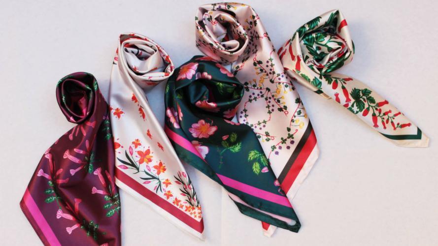 Crea pañuelos con diseños exclusivos