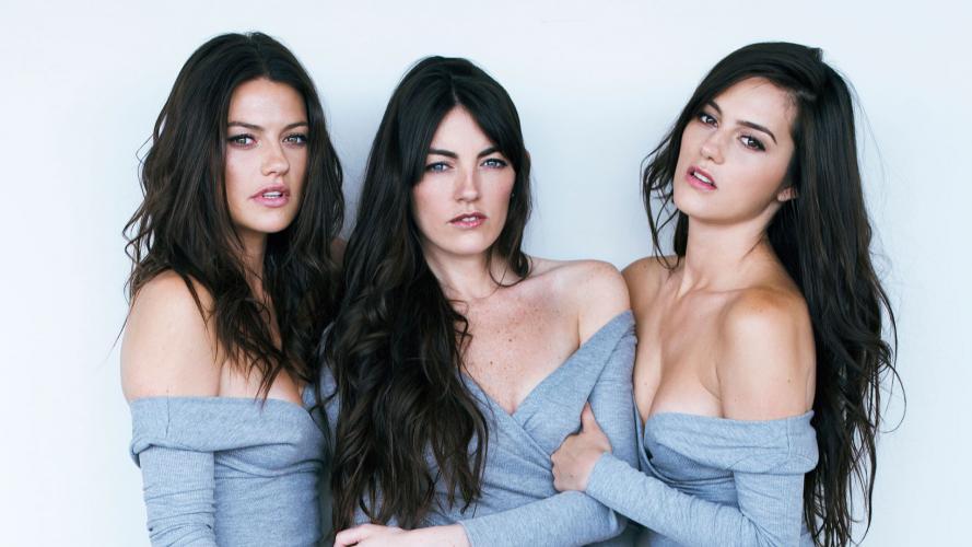 ¡Tres diosas! La modelo