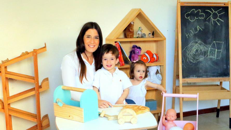 Creó su negocio a partir de sus hijos: la cordobesa que hace juguetes