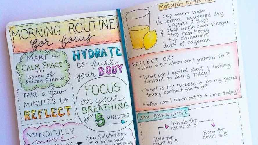 Aprendé a hacer tu propia agenda con el método Bullet Journal