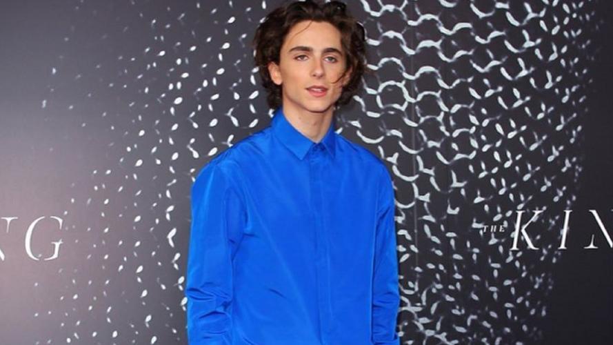 Timothée Chalamet elegido como el hombre más influyente en la moda 2019