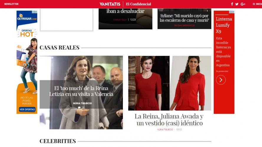 """Polémica fashionista por el vestido """"copiado"""" que usó Awada"""
