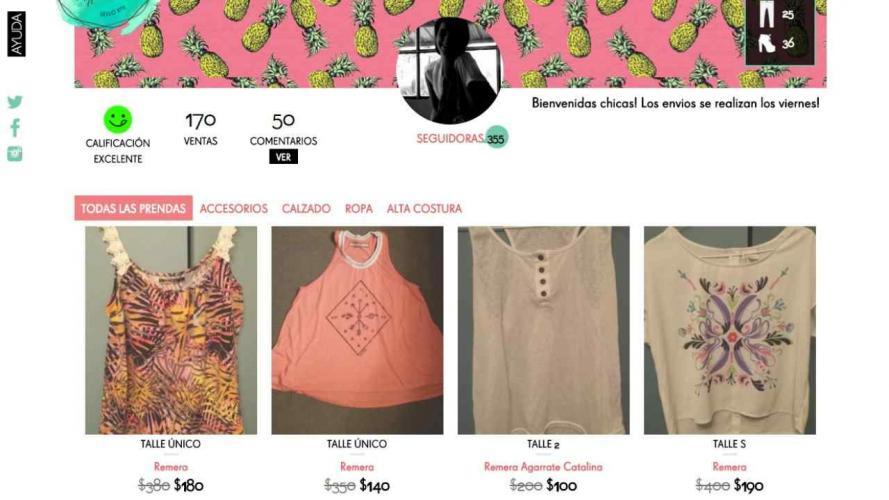 Un sitio para comprar ropa de 40 famosas y más