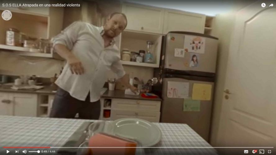 "Un video 360º que permite ""experimentar"" la violencia machista"