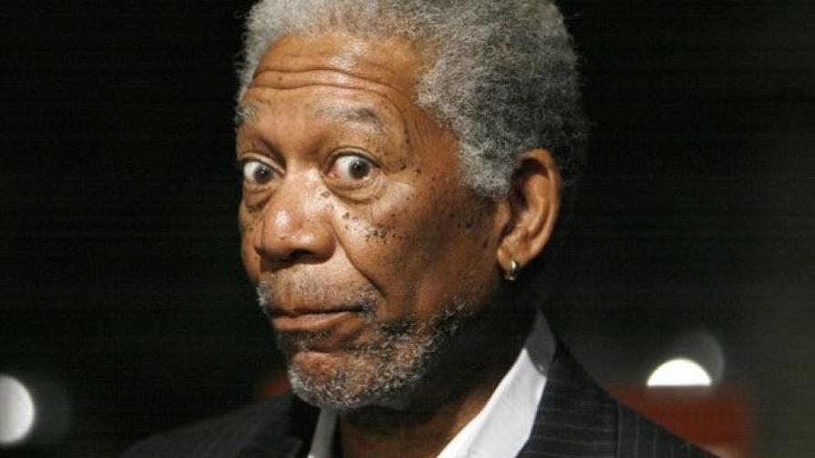 9) Morgan Freeman