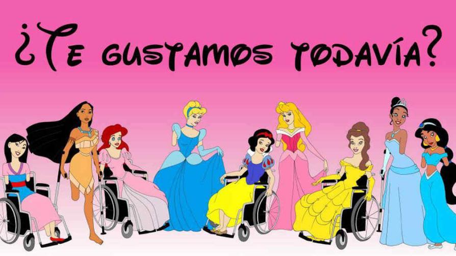 Galer A Princesas De Disney Discapacitadas Para Luchar Contra La