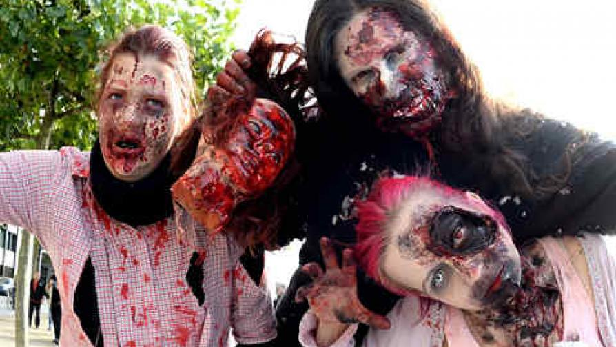 mundo de los muertos vivientes:
