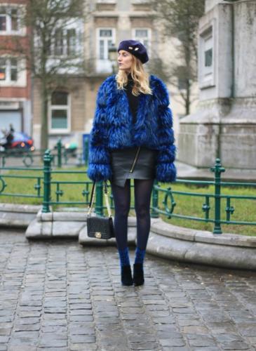 Se usarán las medias de colores, según la semana de la moda de Nueva York