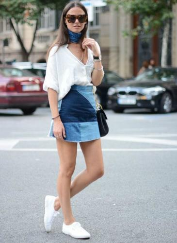¡Sacá a relucir tu mini de jean esta temporada!