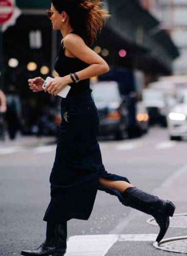 Las botas que se usaron en invierno siguen de moda esta primavera