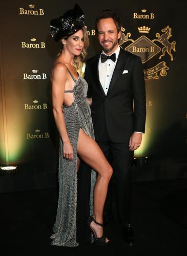 ¡Muy top! Los famosos se vistieron de gala para Prix de Barón B