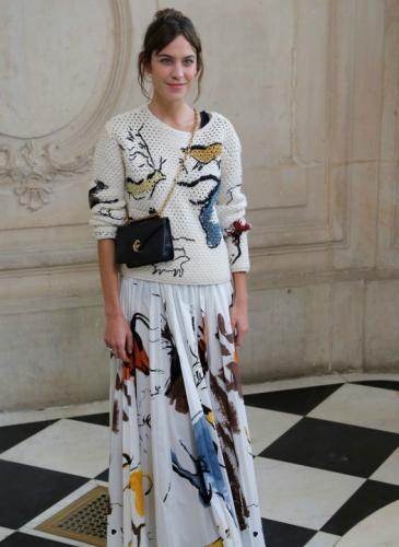 Así se fueron vestidas las celebridades para el desfile de Dior en París