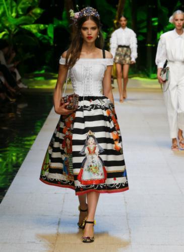 El universo tropical de Dolce & Gabbana en la Semana de la Moda de Milán