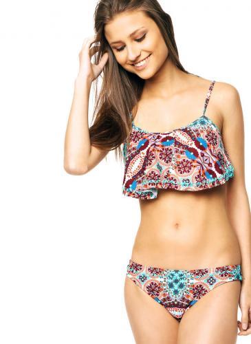 Mirá cómo es la flamenkini, la biquini de moda este verano