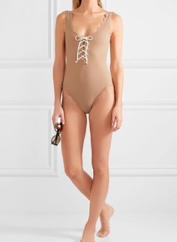 ¡Adelantate al próximo verano! El nude se impondrá en los trajes de baño