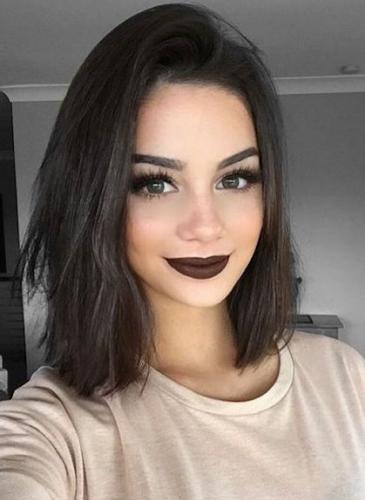 ¿Cómo se usan labiales oscuros?
