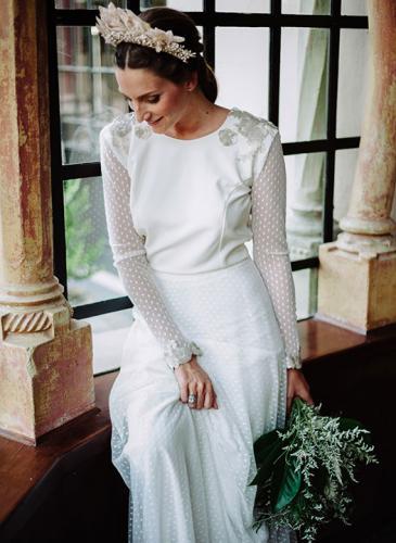 Para enamorarse: mirá estos vestidos de novia románticos y a la moda