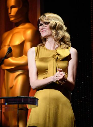 Los looks de los nominados a los Oscar, en el tradicional almuerzo previo a la entrega