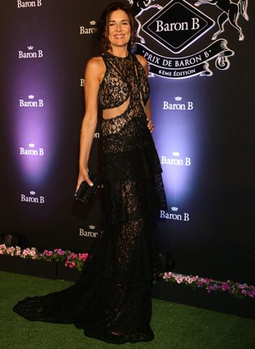 Famosas lucieron espectaculares vestidos y fascinators en la fiesta de Baron B