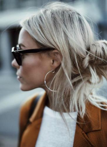Inspiración rodete: una forma fácil de acomodar nuestro pelo