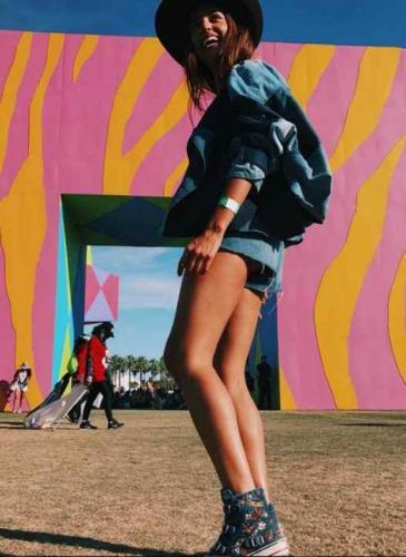 Diario de viaje de la chica it argentina que brilló en el festival de Coachella