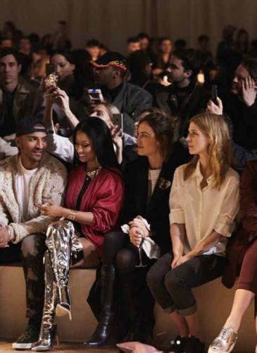 Nicki Minaj, las hermanas Hadid y Alexa Chung en un desfile que lo tuvo todo
