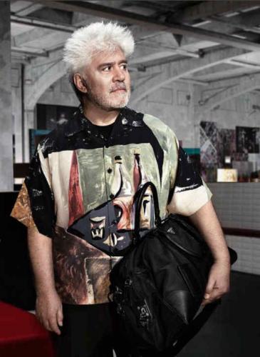 El día que Pedro Almodóvar se convirtió en modelo