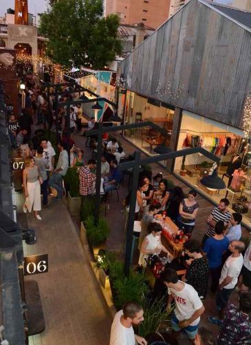 Barrio Galeria festeja su primer año