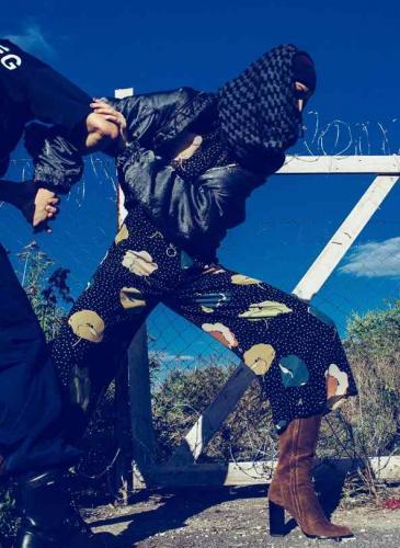 Polémica por modelos posando como los refugiados sirios
