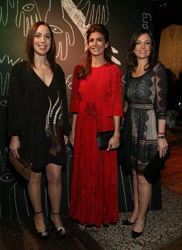 Chicas de fiesta: las principales mujeres del PRO con altos looks