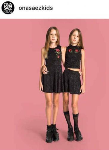 Anorexia infantil: una marca argentina lanzó una campaña que detonó un fuerte rechazo en las redes