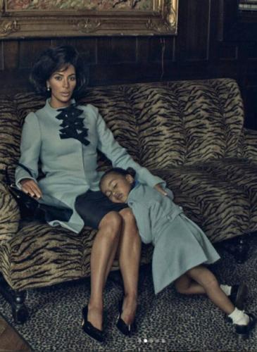 Kim Kardashian imitó a Jackie Kennedy y desató la polémica
