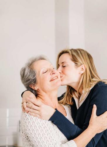 Celebrar con mamá es un placer