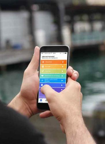 Meditar con ayuda del celular: una práctica cada vez más común