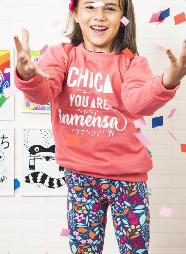 Pako Peko, ropa inclusiva para niños: sin distinción de sexo, con textos en braille, y más
