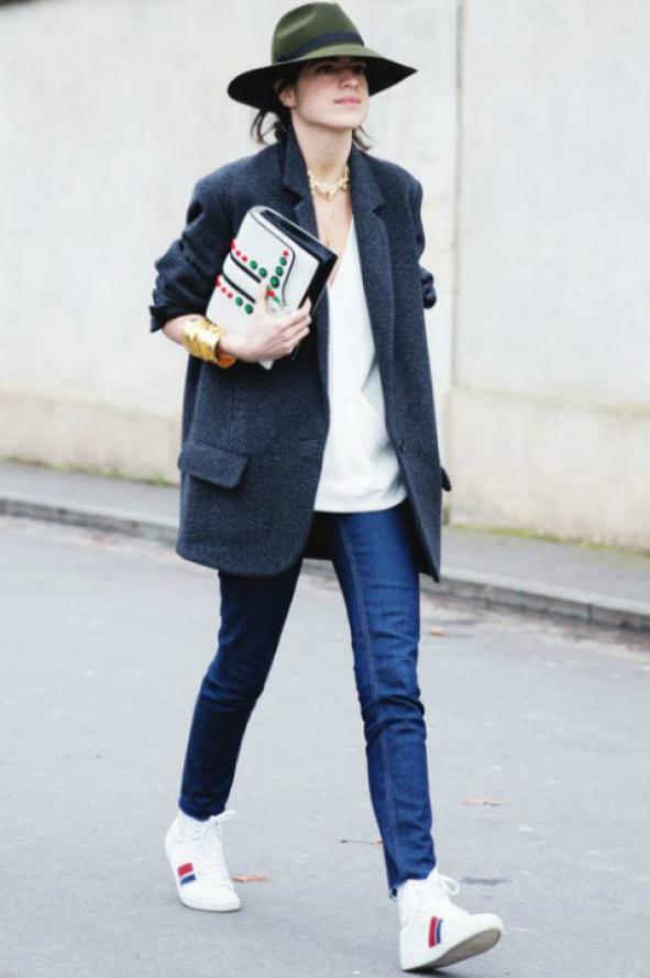 El saco masculino es tendencia en mujeres | MUSA