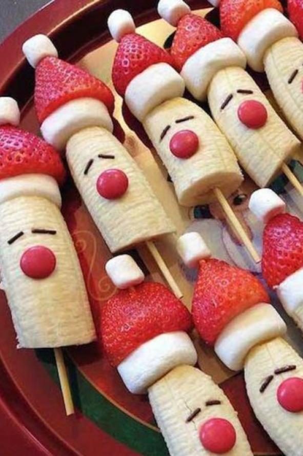 Te van a encantar ideas creativas y f ciles para presentar la comida en navidad musa - Comida para navidad facil ...