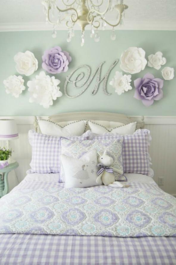 Flores de papel para decorar tu casa musa - Papel para decorar ...