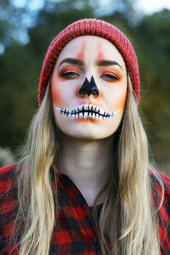 Inspiración para Halloween! Ideas de maquillaje para lucir el ...