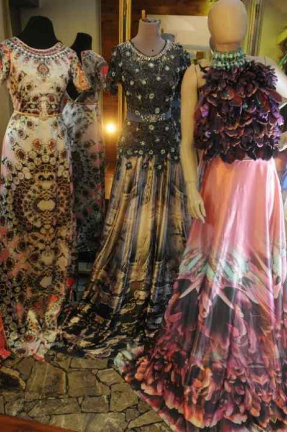 Telas para vestidos de fiesta en caracas